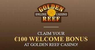 golden reef online casino infos bonus