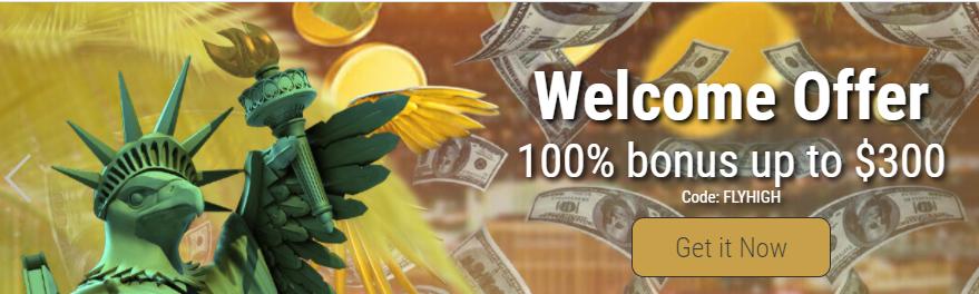 grand eagle online casino welcome bonus