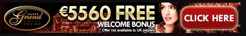 Grand hotel casino 5560 free welcome bonus