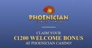 Phoenician casino get 1200 welcome bonus