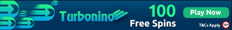 Turbonino get 100 FREE SPINS