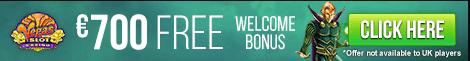Vegas Slot Casino 700 FREE WELCOME BONUS