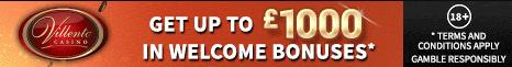 Villento Casino get up 1000 Welcome Bonuses