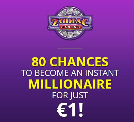 Zodiac casino great promotions