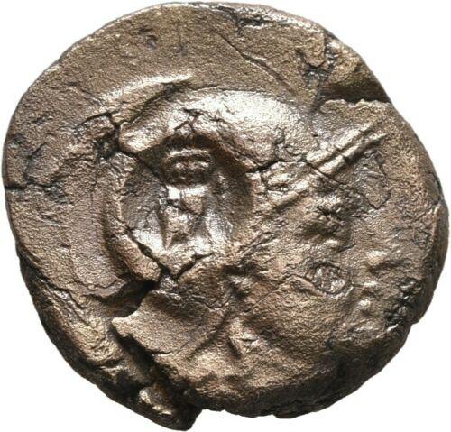 Identification monnaie antique contremarque chouette  S-l50010