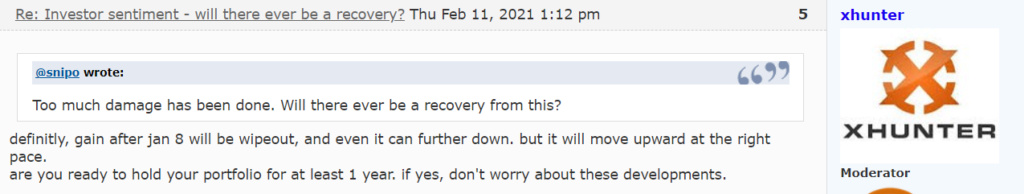 Investor sentiment - will there ever be a recovery? Xd10