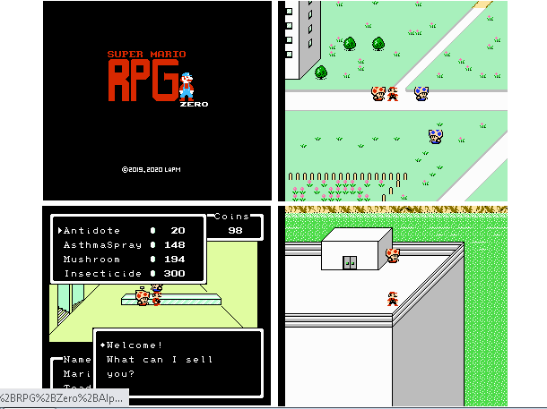 Super Mario RPG Zero (EarthBound Beginnings Hack ROM) Lapm_c10