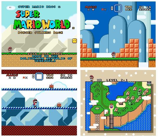 Super Mario World 3 El Hack ROM Innovador Smw_3_10