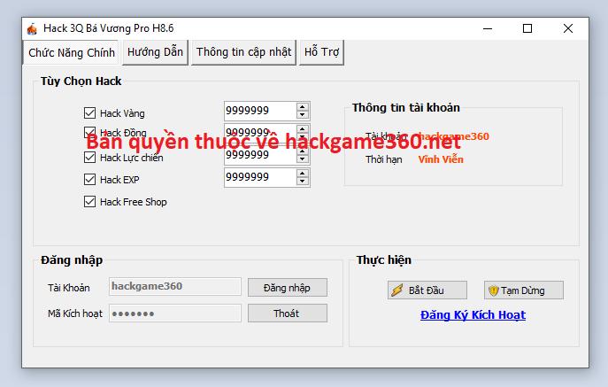 Hack 3Q Bá Vương miễn phí 3qbavu10