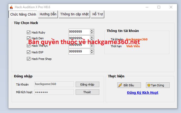 Hack Audition X mới nhất Auditi10