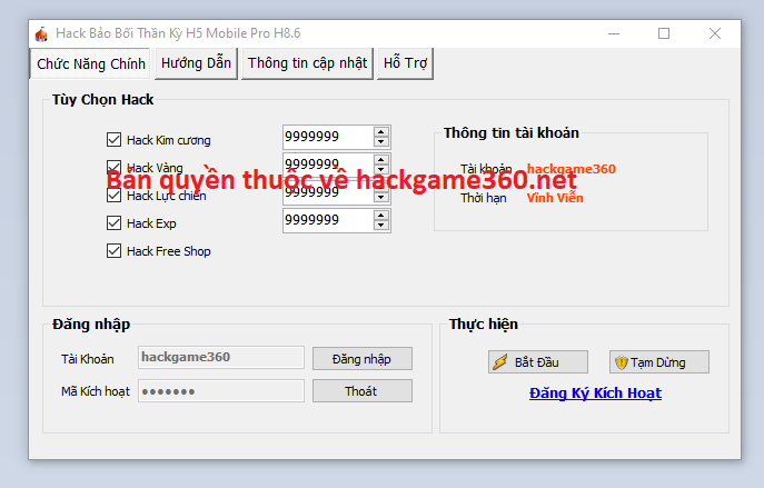 Hack Bảo Bối Thần Kỳ H5 miễn phí Baoboi10