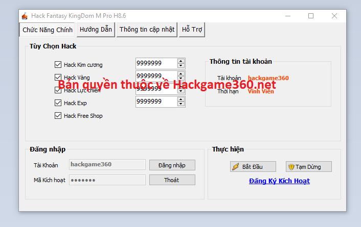 Hack Fantasy KingDom M miễn phí Fantas10