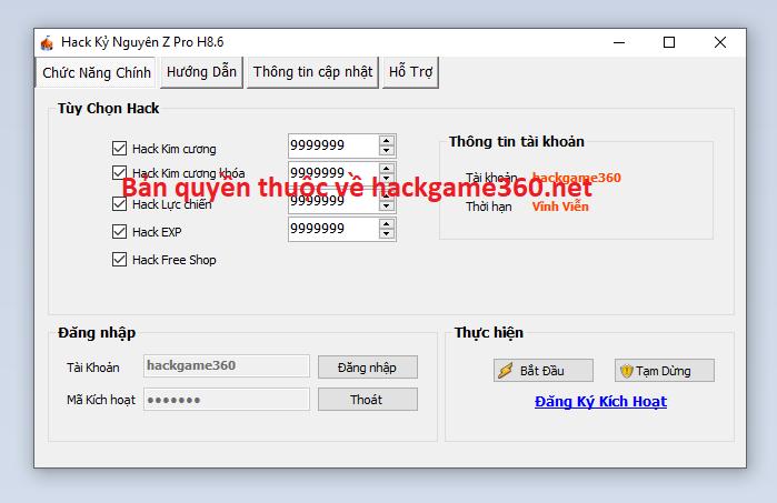 Hack Kỷ Nguyên Z miễn phí Kynguy12