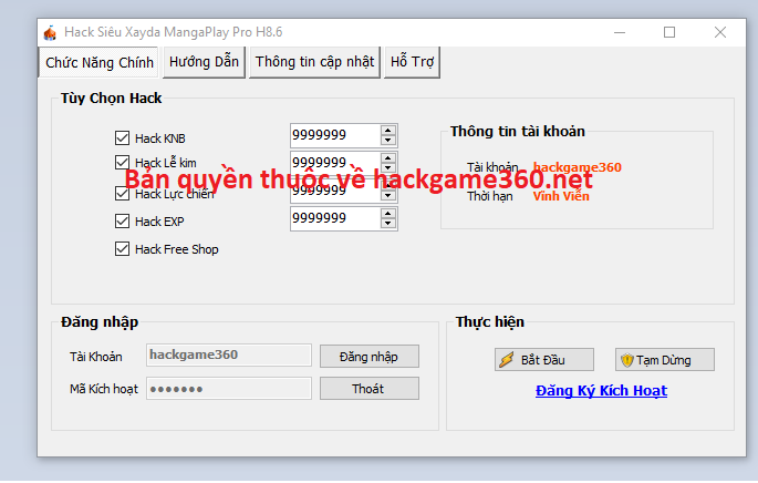 Hack Siêu Xayda MangaPlay mưới nhất Sizoua10