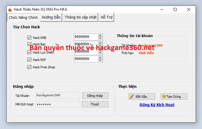 Hack Thiếu Niên Danh Tướng 3Q miễn phí Thieun10