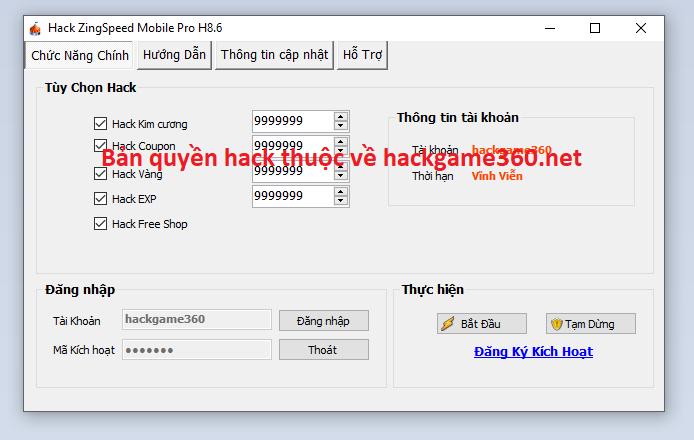 Hack ZingSpeed Mobile miễn phí Zingsp10