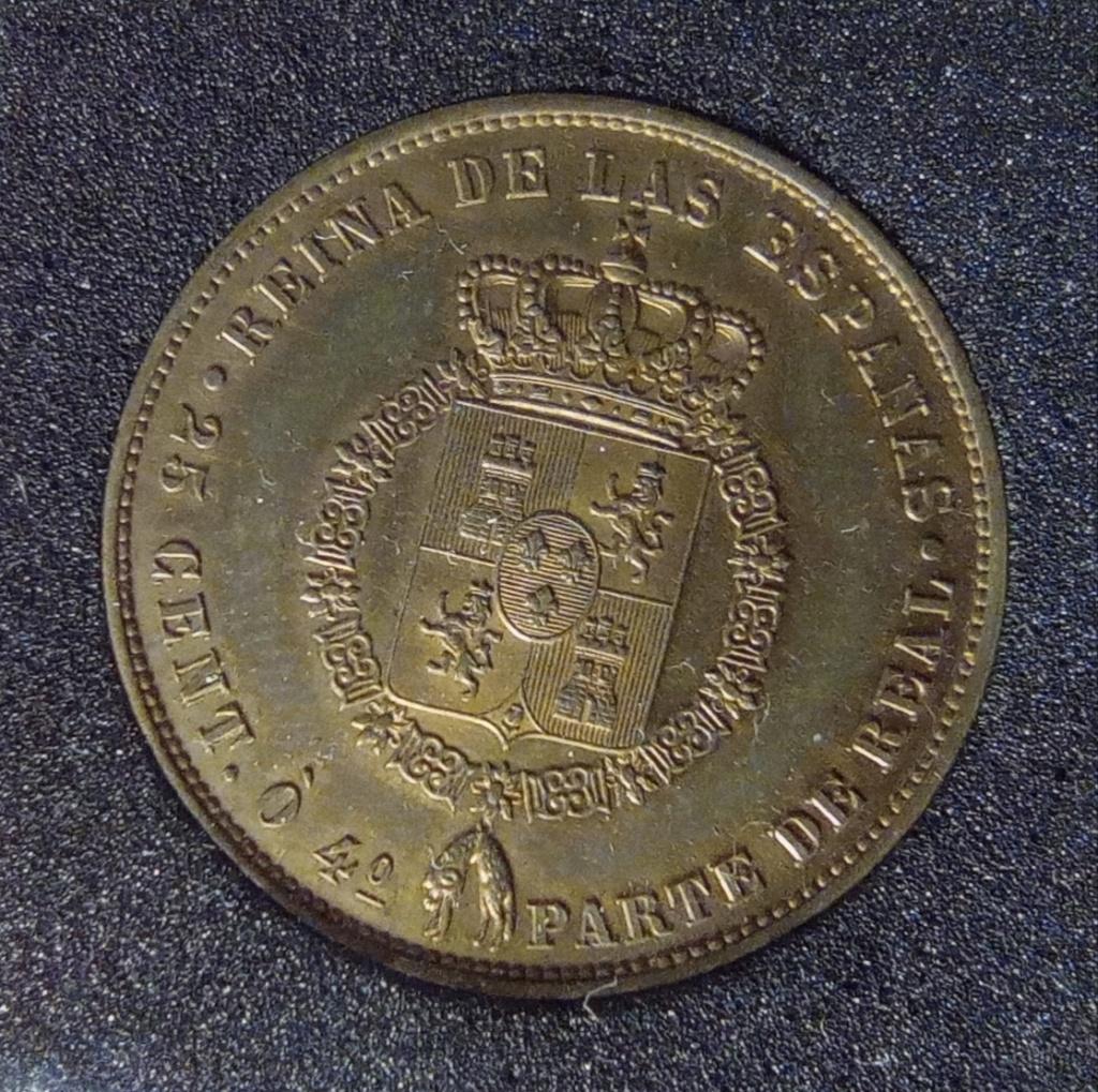 Prueba FERNADEZ PESCADOR, 25 Cent. ó 4º Parte de Real. Isabel II Img_2014