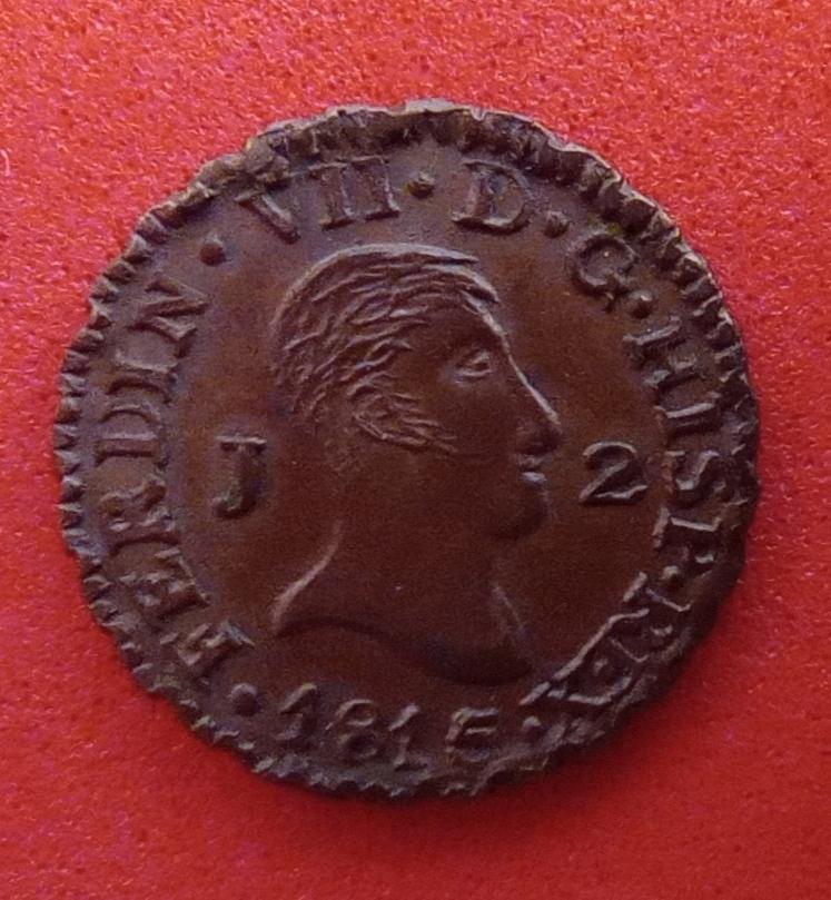 2 Maravedís. 1815. Jubia. Fernando VII.  Img_2040