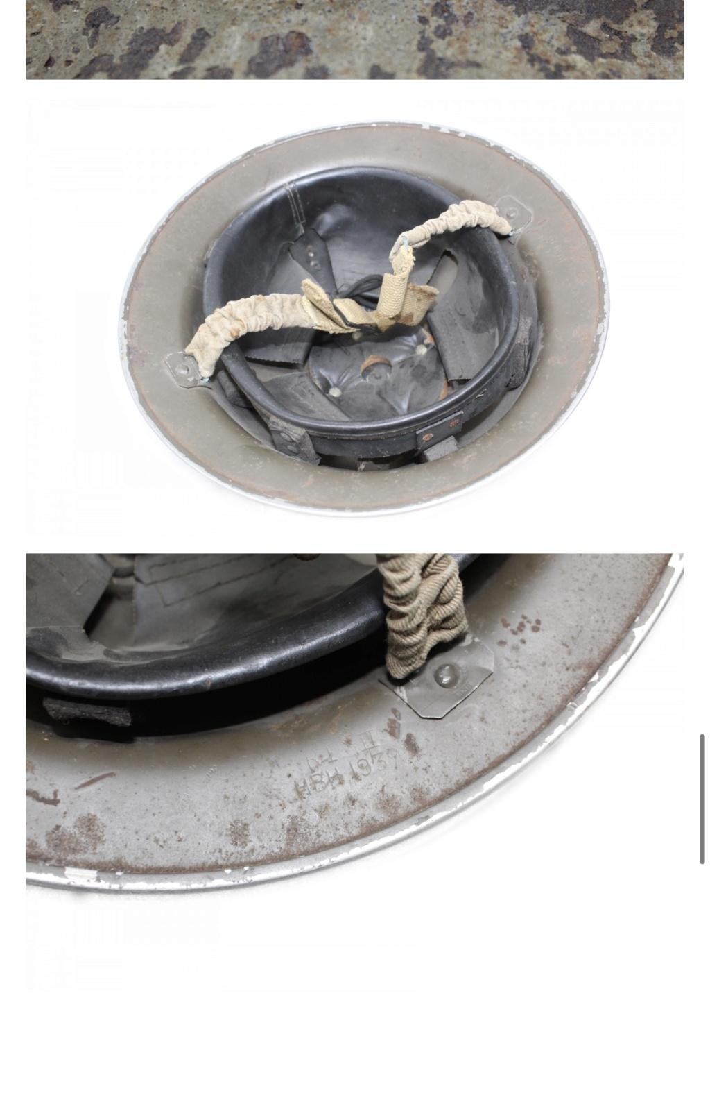 Demande d'infos casque 56th infantry brigade Gloucestershire 32809510