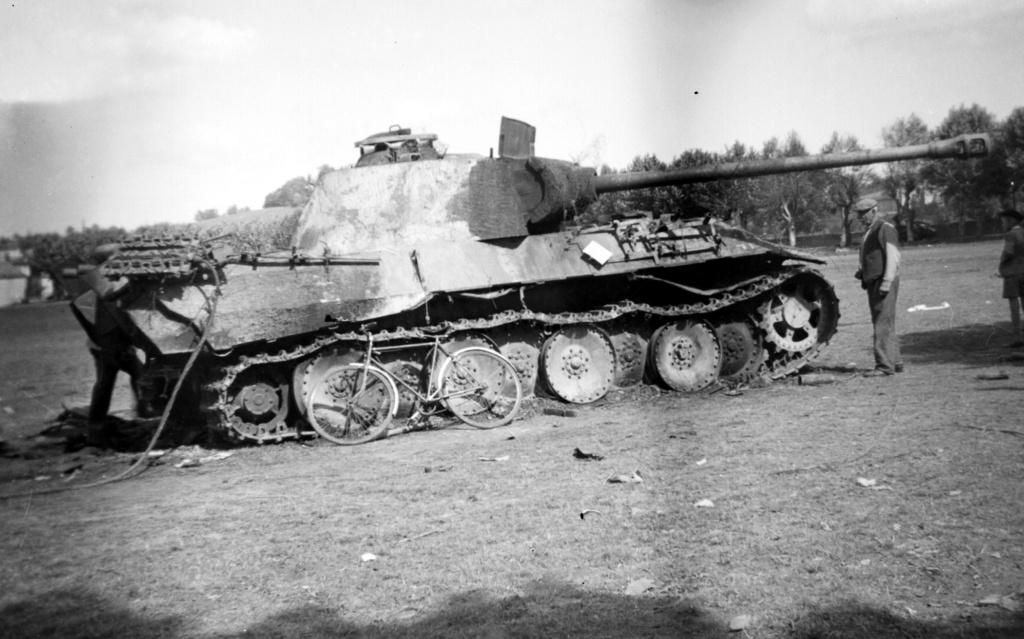 Photos de chars allemands détruits à la bataille de Meximieux le 1/09/1944 1998_111