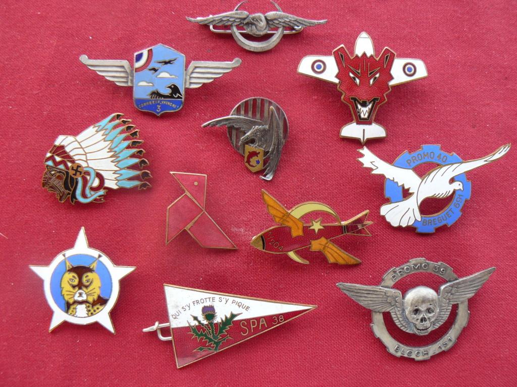 Trouvailles insignes thème aviation P1160912