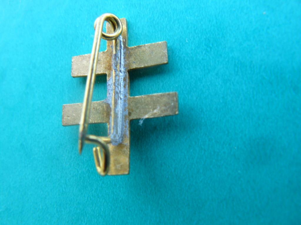 Insigne croix de lorraine France d'abord P1160915