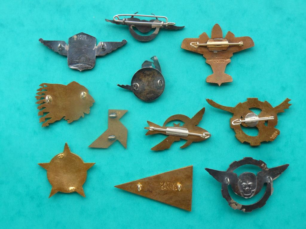 Trouvailles insignes thème aviation P1160918