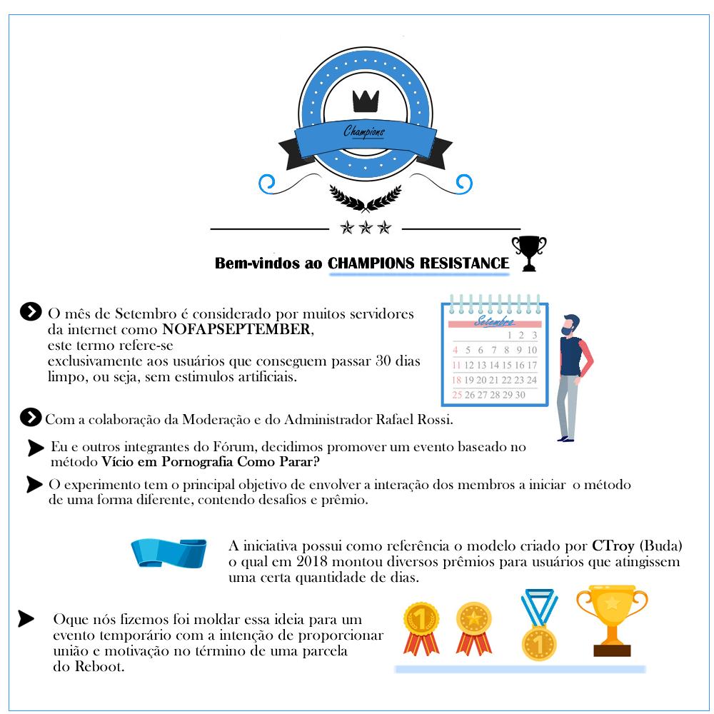 ® NOFAPSEPTEMBER - CHAMPIONS RESISTANCE! Quadra19