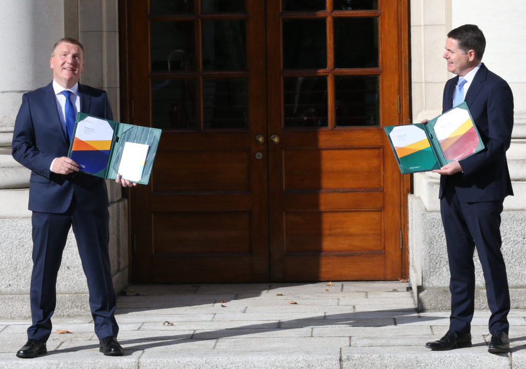 Budget 2021: €17bn package to tackle Covid-19 & Brexit announced as Ireland unveils largest budget in history 7472-b10