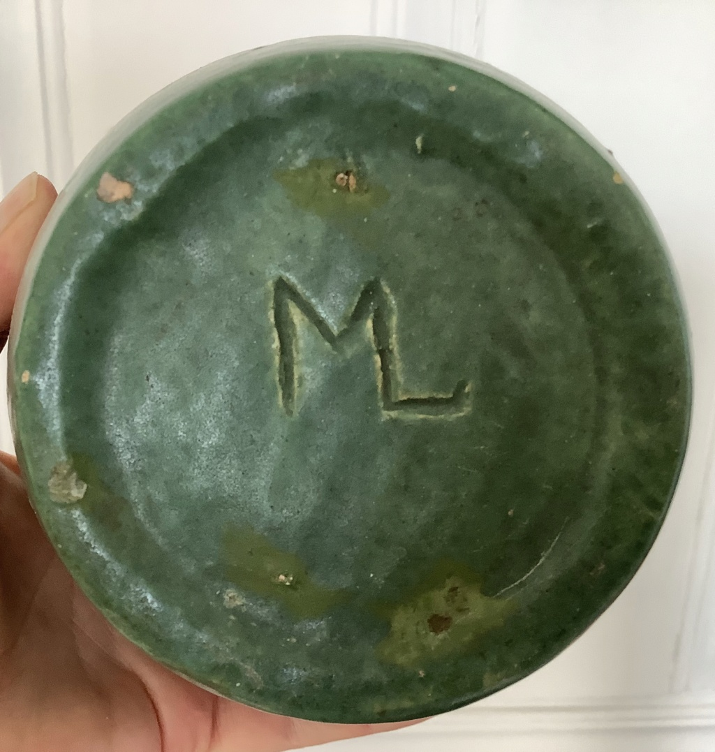 Help ID teal green vase,maybe art pottery? 6ec93710