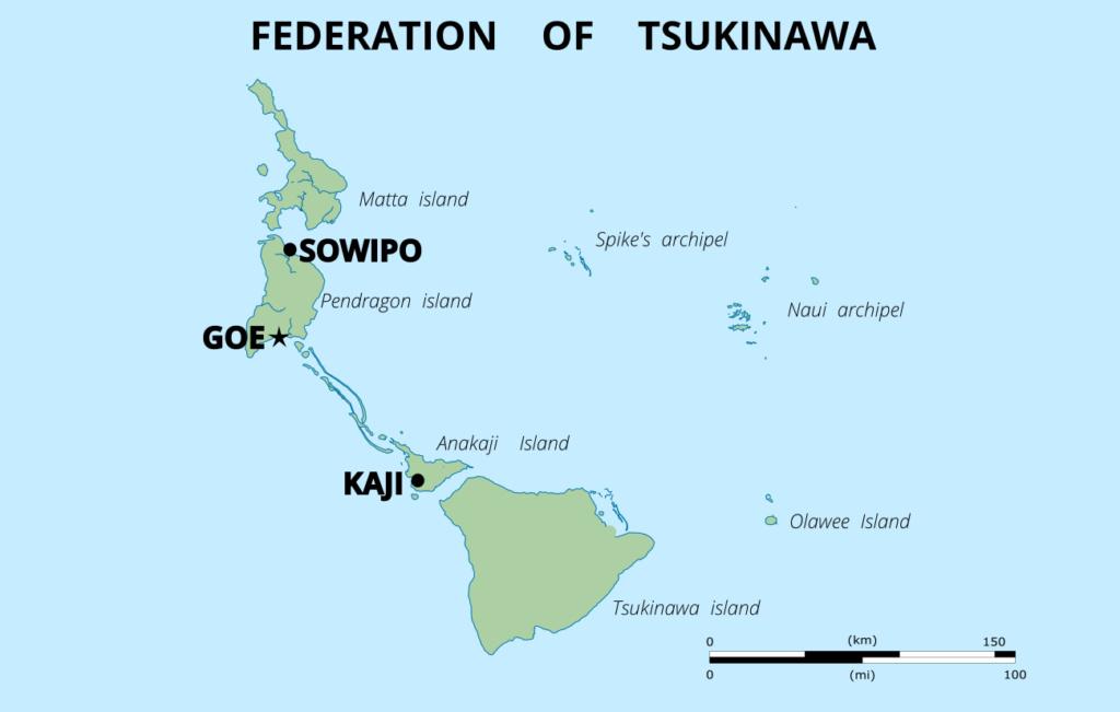 Tsukinawa: En approche vers Goe Map-ts10
