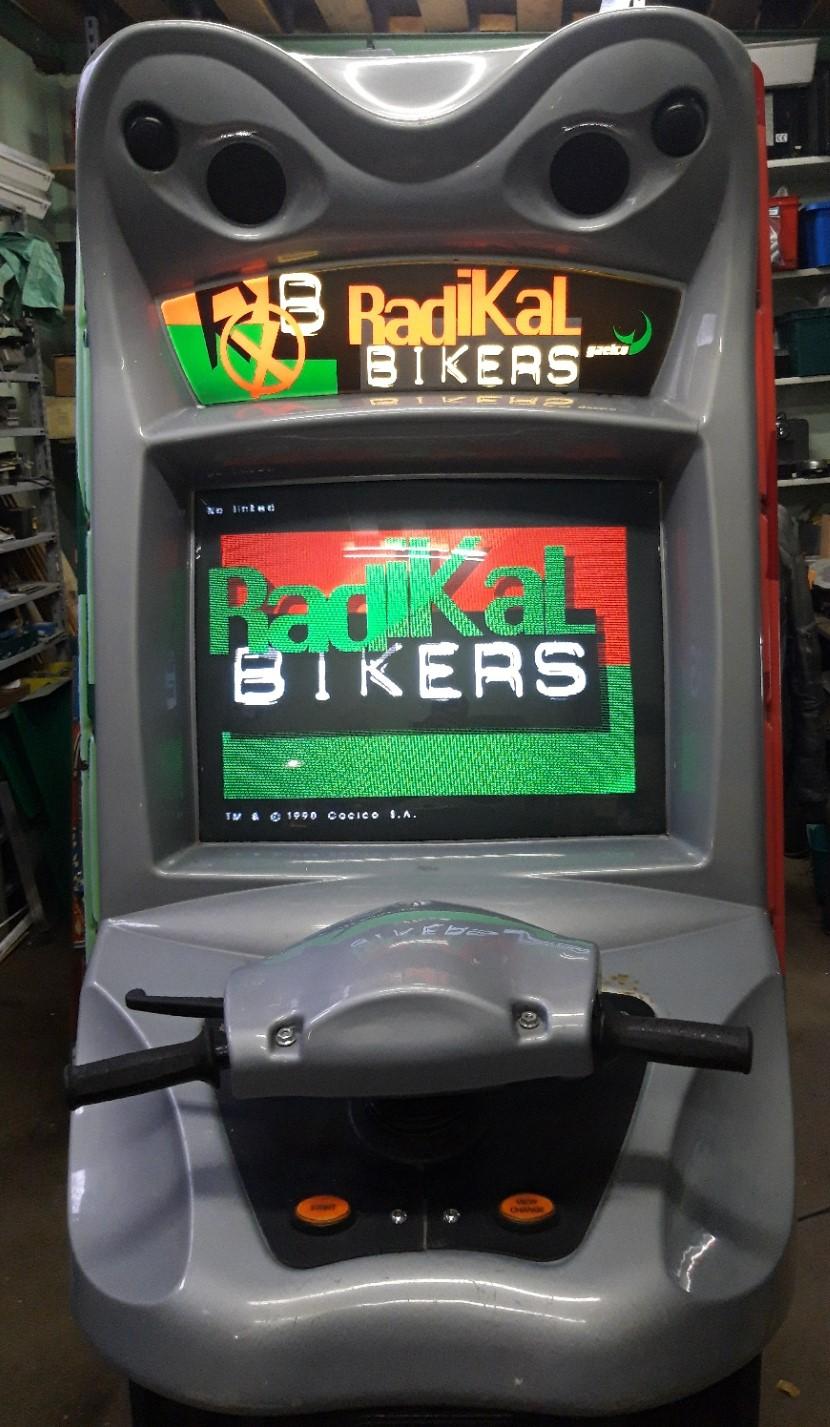 Vends Radikal Bikers Gaelco 20210212
