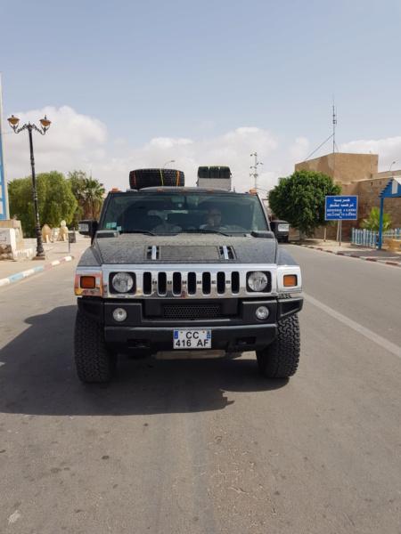 Présentation Hummer H2 dans le désert  20200914