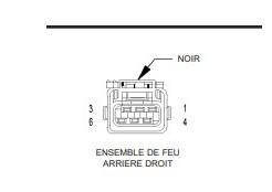 Recherche référence de connecteur de feux arrières 410