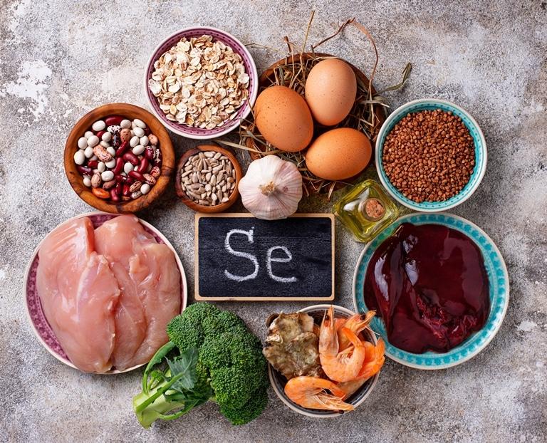 Các loại vitamin và thuốc tốt nhất trước khi mang thai Seleni10