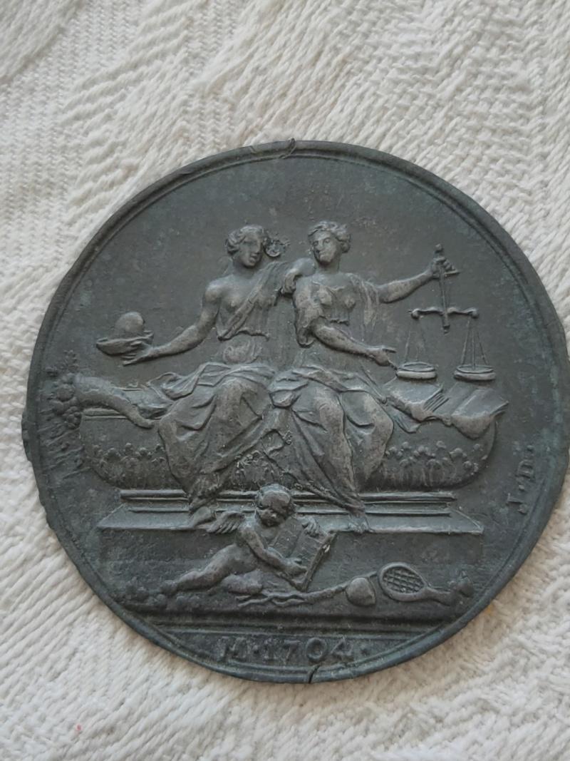 Medalla alegorica 16186723