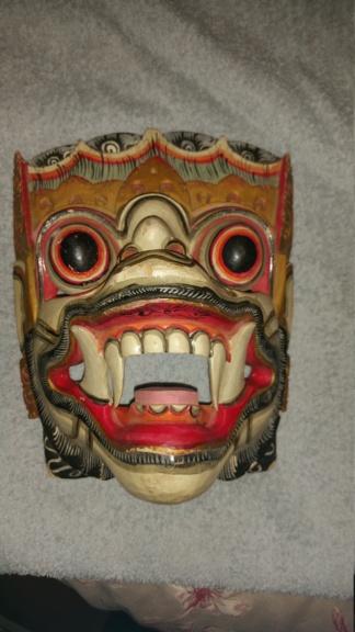 2 wooden masks 20180910