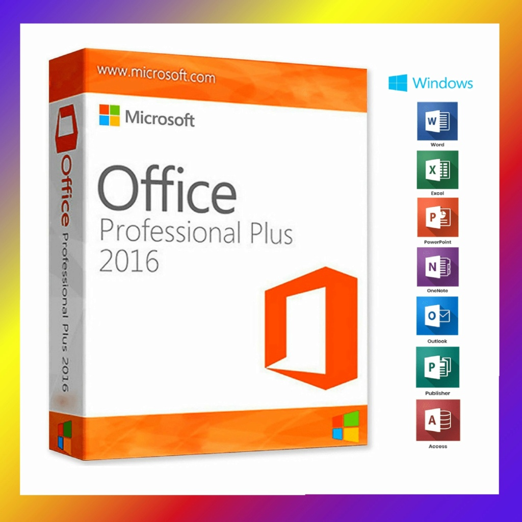Office 2016 pre-activated Micros10