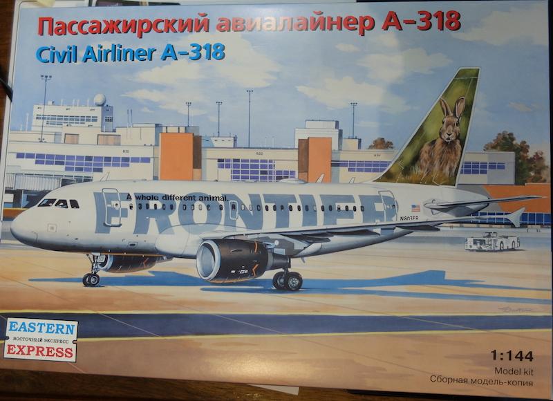 A318 EASTERN EXPRESS 1/144 Frontier 1dscf810