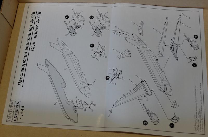 A318 EASTERN EXPRESS 1/144 Frontier 4dscf810