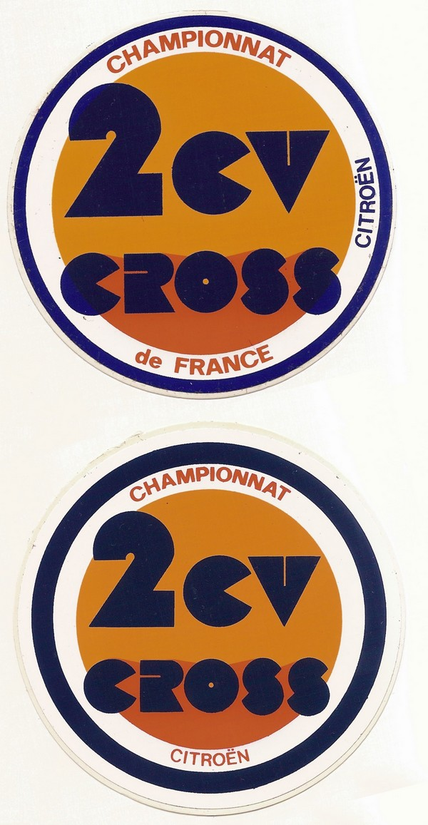 "Logo ""2CV CROSS"" 2cv_cr10"