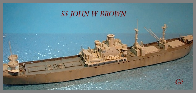 1/350 Trumpeter SS JOHN W BROWN 00120