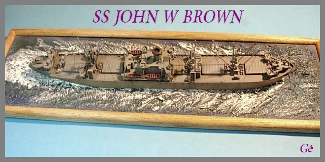 SS JOHN W BROWN  1/350  Trumpeter 00133