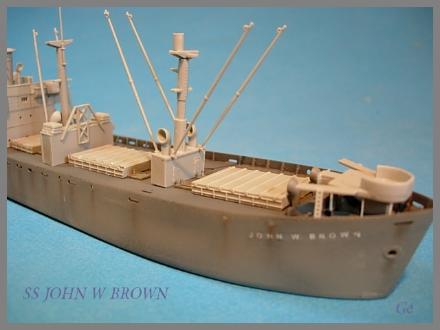 1/350 Trumpeter SS JOHN W BROWN 00221