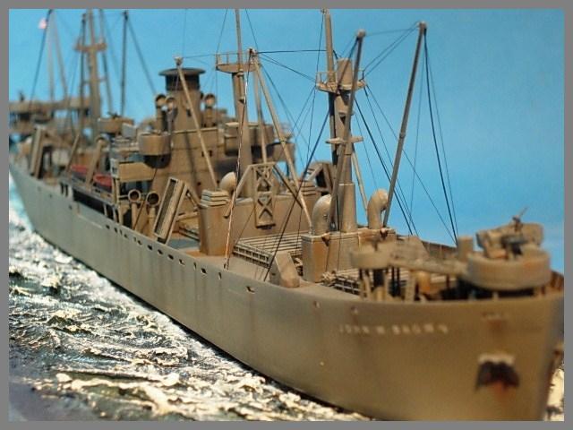 SS JOHN W BROWN  1/350  Trumpeter 00227