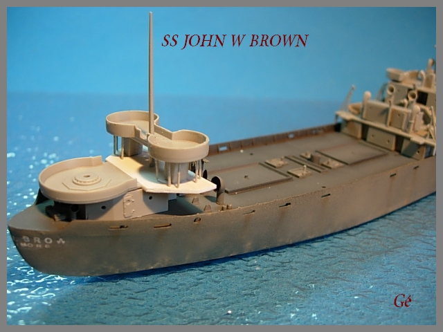 1/350 Trumpeter SS JOHN W BROWN 00318