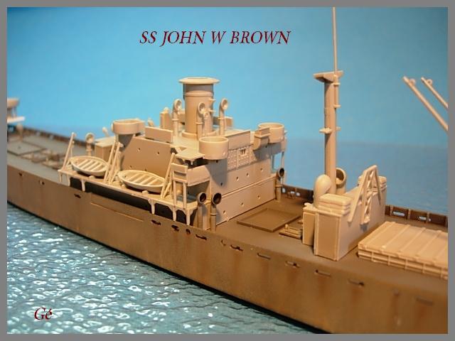 1/350 Trumpeter SS JOHN W BROWN 00418