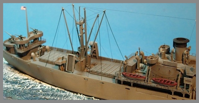 SS JOHN W BROWN  1/350  Trumpeter 01010