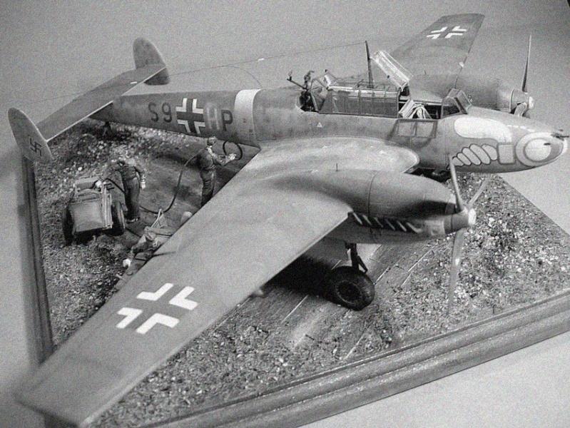 Messerschmitt BF 110 1/48 Dscn0166