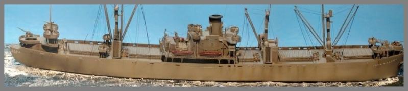 SS JOHN W BROWN  1/350  Trumpeter Stitch10